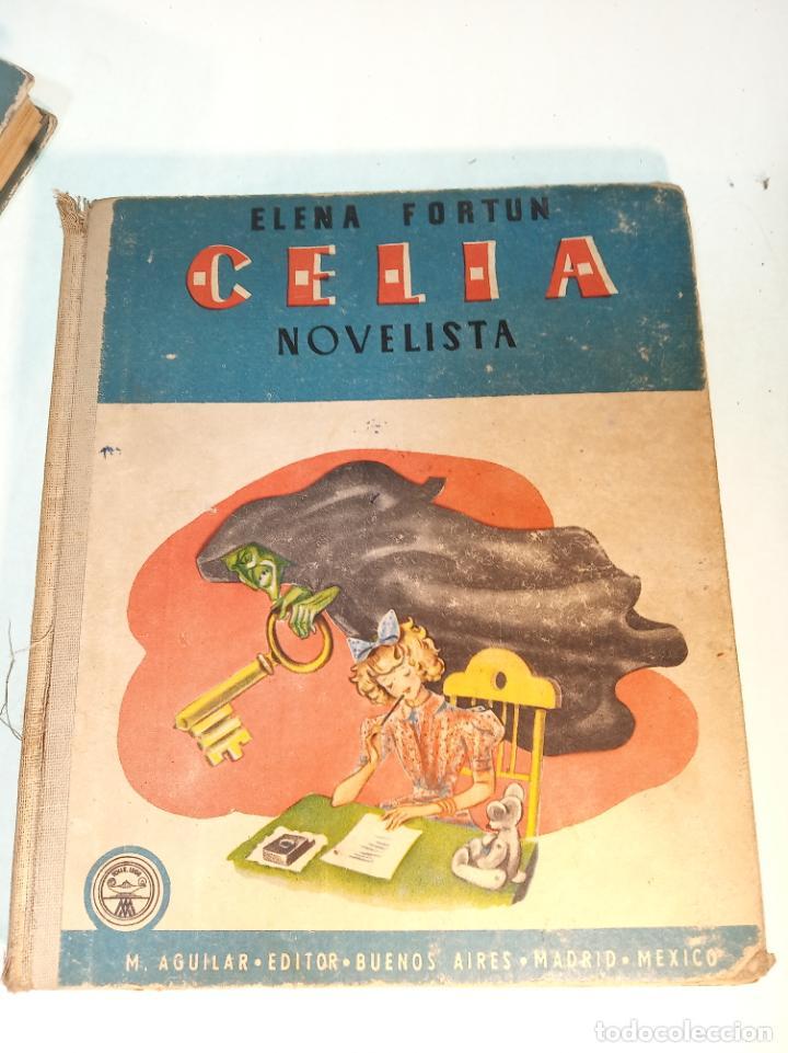 Libros antiguos: Lote de 5 cuentos de Los cuentos de Celia. Elena Fortún. Aguilar. Madrid. 1955. - Foto 6 - 189138382