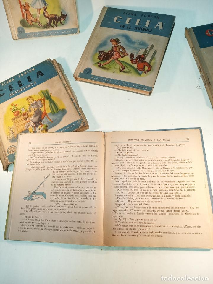 Libros antiguos: Lote de 5 cuentos de Los cuentos de Celia. Elena Fortún. Aguilar. Madrid. 1955. - Foto 9 - 189138382