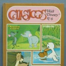 Libros antiguos: CLÁSICOS WALT DISNEY, Nº 6. ED. EDICIONES RECREATIVAS. Lote 189182251