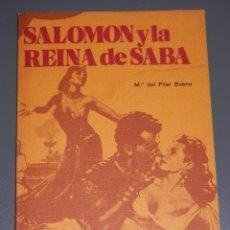 Libros antiguos: SALOMON Y LA REINA DE SABA. Lote 189544766