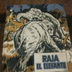 Libros antiguos: RAJA EL ELEFANTE . BERNARD RUTLEY . ED MOLINO . VIDAS DE ANIMALES SALVAJES .ILUSTRADO . Lote 189591056