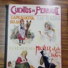 Libros antiguos: CUENTOS DE PERRAULT. RAMON SOPENA.. Lote 189614990