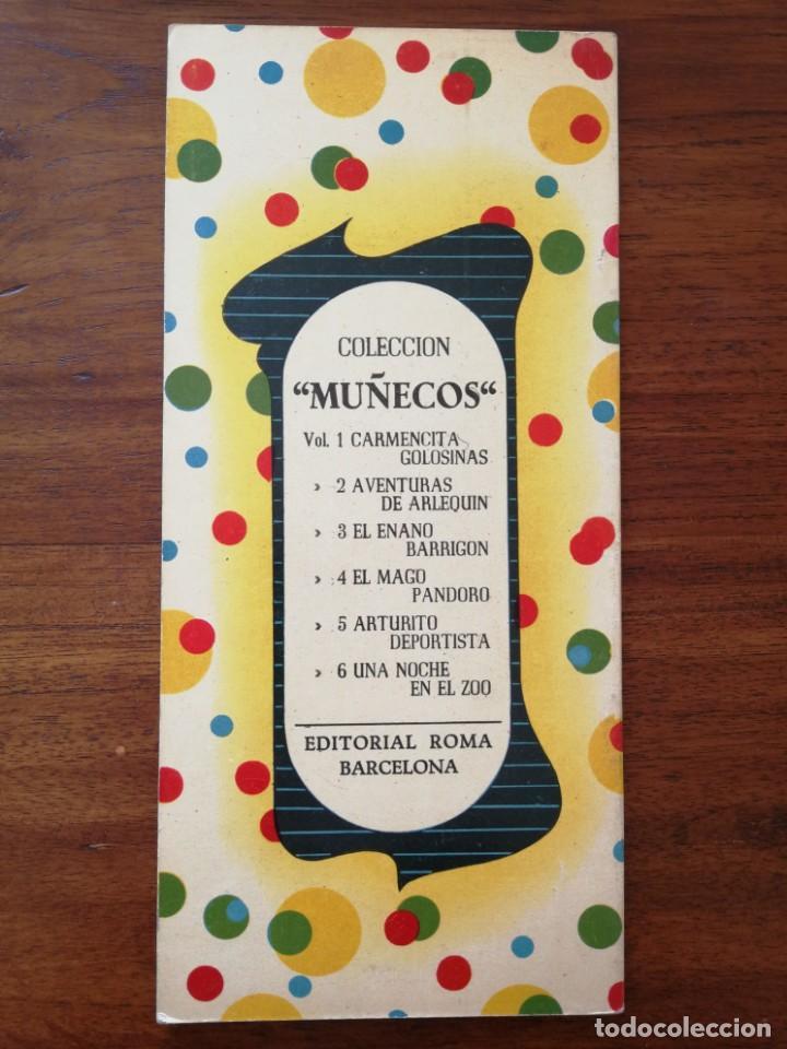 Libros antiguos: Arturito Deportista - Colección MUÑECOS - Editorial Roma Barcelona - Excelente estado - Foto 2 - 190063271