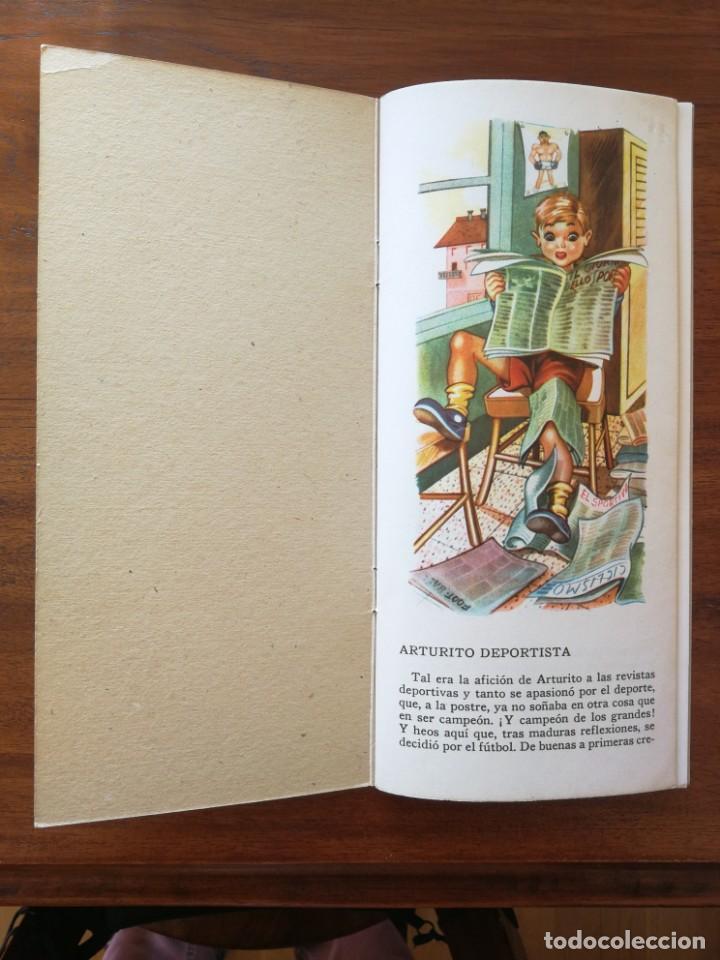 Libros antiguos: Arturito Deportista - Colección MUÑECOS - Editorial Roma Barcelona - Excelente estado - Foto 3 - 190063271