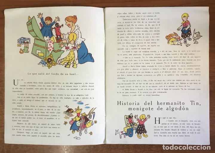Libros antiguos: EL HERMANITO TIN. Cuento de niñas. - LAGUIA LLITERAS, Juan. - Foto 2 - 123206102