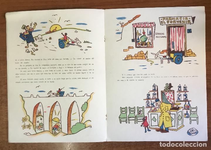 Libros antiguos: EL HERMANITO TIN. Cuento de niñas. - LAGUIA LLITERAS, Juan. - Foto 3 - 123206102