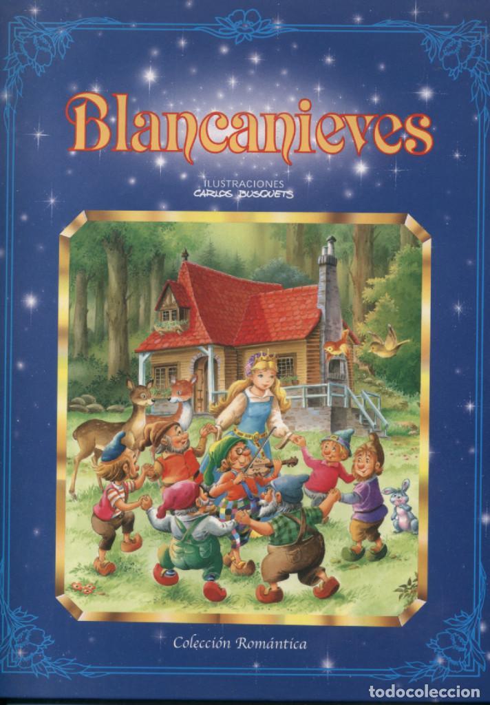 BLANCANIEVES COLECCIÓN ROMÁNTICA EDICIONES SALDAÑA 2003 (Libros Antiguos, Raros y Curiosos - Literatura Infantil y Juvenil - Cuentos)