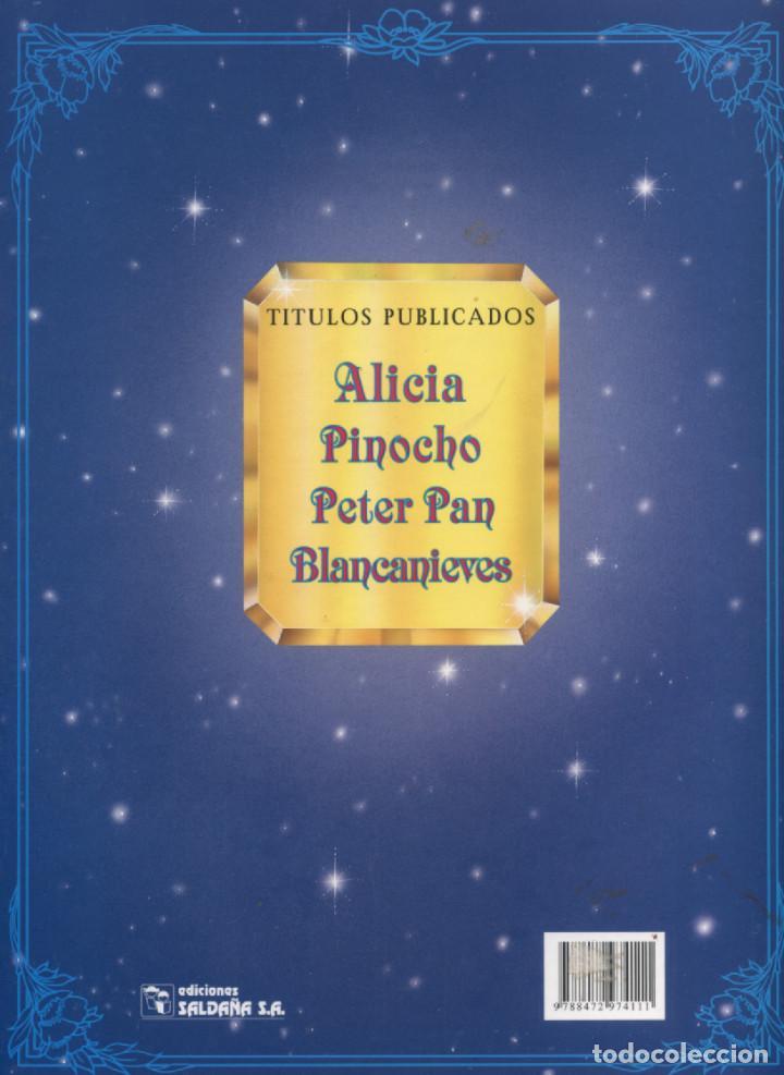 Libros antiguos: BLANCANIEVES COLECCIÓN ROMÁNTICA EDICIONES SALDAÑA 2003 - Foto 2 - 190693233