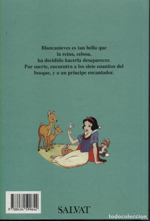 Libros antiguos: CLUB DEL LIBRO DISNEY - BLANCANIEVES Y LOS 7 ENANITOS - SALVAT 1999 - Foto 2 - 190694270