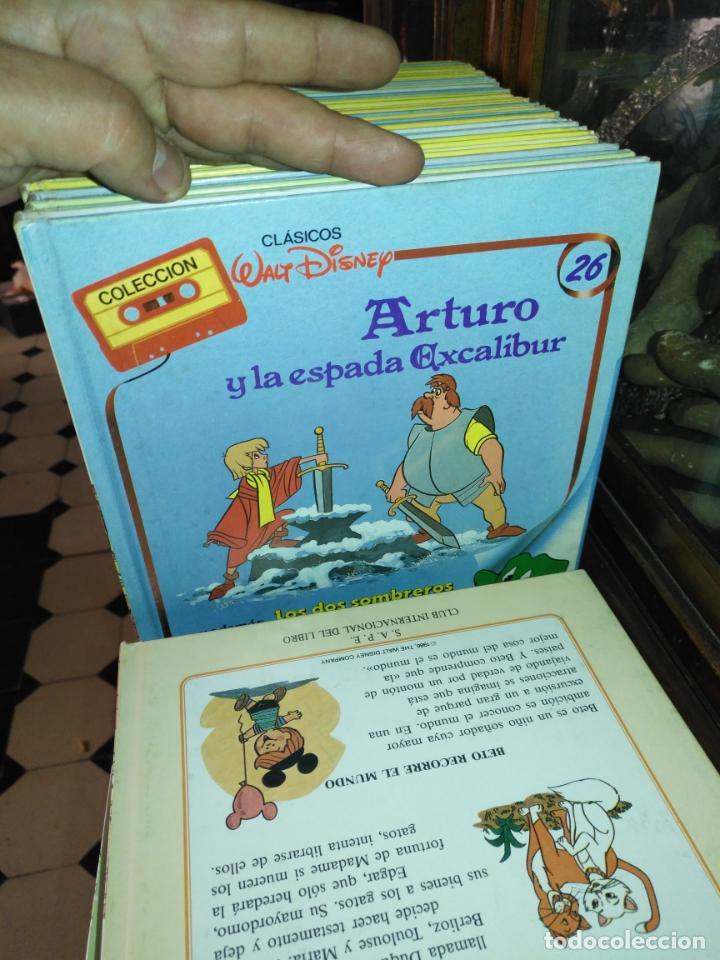 Libros antiguos: Clásicos Walt Disney Colección completa de 30 libros - Foto 7 - 190878490