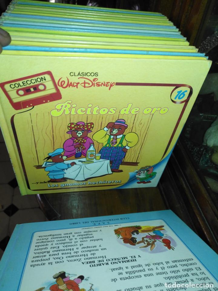 Libros antiguos: Clásicos Walt Disney Colección completa de 30 libros - Foto 17 - 190878490
