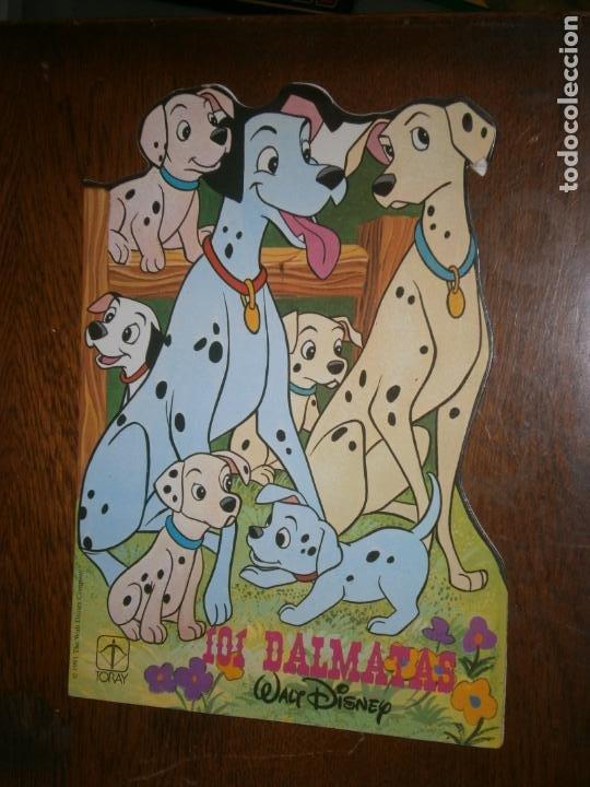 CUENTO TROQUELADO 101 DALMATAS WALT DISNEY (Libros Antiguos, Raros y Curiosos - Literatura Infantil y Juvenil - Cuentos)