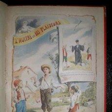 Libros antiguos: LES FABLES DE LA FONTAINE. ILLUSTRATIONS DE A. LEMOY.. Lote 191002877