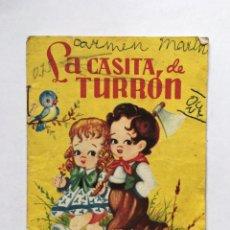 Libros antiguos: LA CASITA DE TURRÓN CUENTOS BABY EDITORIAL ROMA. Lote 191023166
