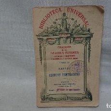 Libros antiguos: CUENTOS FANTASTICOS BALZAC TOMÓ 29 AÑO 1922. Lote 191249318