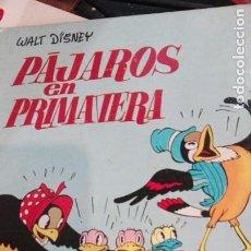 Libros antiguos: PAJAROS EN PRIMAVERA.WALT DISNEY.1935. Lote 191250263
