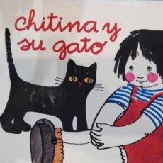 Libros antiguos: CHITINA Y SU GATO .JUVENTUD. Lote 191250553