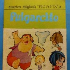 Livres anciens: PULGARCITO. CUENTOS MÁGICOS PEGA FIX Nº 2. EDITORIAL ROMA. Lote 191477013