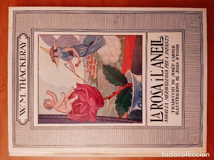 1974 LA ROSA I L ´ANELL / W. M. THACKERAY / ILSTRACIONES JOAN D ´IVORI (Libros Antiguos, Raros y Curiosos - Literatura Infantil y Juvenil - Cuentos)