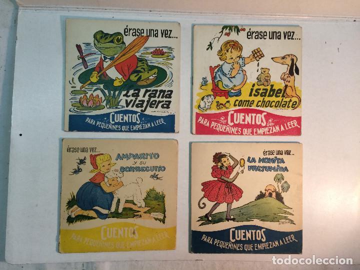 LOTE CUENTOS PARA PEQUEÑINES QUE EMPIEZAN A LEER (4 EJEMPLARES) (Libros Antiguos, Raros y Curiosos - Literatura Infantil y Juvenil - Cuentos)