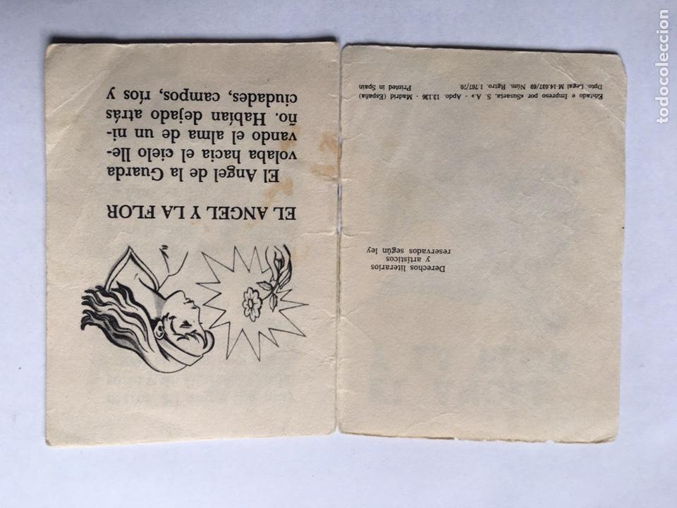 Libros antiguos: Antiguo cuento El ángel y la flor Ediciones Susaeta - Foto 2 - 191679972