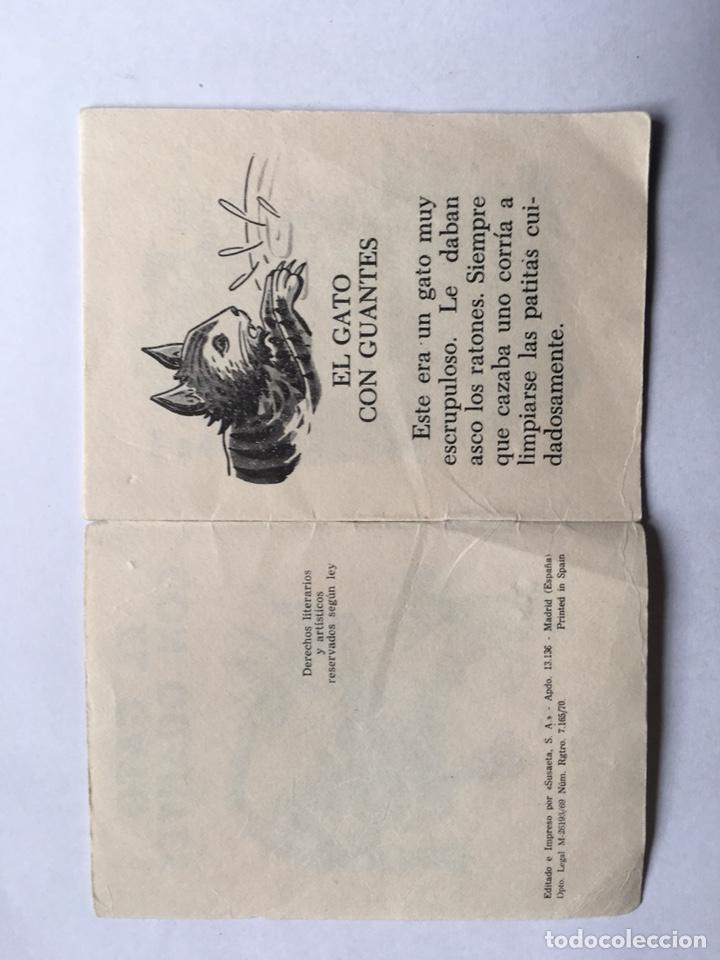 Libros antiguos: El gato con guantes suseta año 1969 - Foto 2 - 191680613