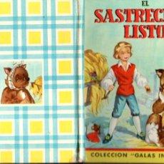 Libros antiguos: EL SASTRECILLO LISTO (GALAS INFANTILES MATEU, S.F.). Lote 192267982