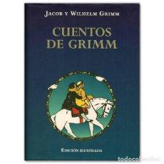 Libros antiguos: CUENTOS DE GRIMM DE JACOB Y WILHELM GRIMM. Lote 192757748