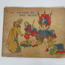 Libros antiguos: EL MENOR DE LOS OCHO - COLECCIONES MUNTAÑOLA - CUENTOS FANTÁSTICOS - C.A. JORDANA - AÑO 1933. Lote 192768396