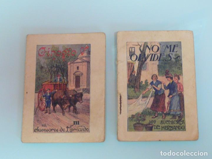 DOS CUENTOS MUSEO DE LA NIÑEZ, ED. HERNANDO, 10 X 7 CM. (Libros Antiguos, Raros y Curiosos - Literatura Infantil y Juvenil - Cuentos)