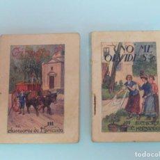 Libros antiguos: DOS CUENTOS MUSEO DE LA NIÑEZ, ED. HERNANDO, 10 X 7 CM.. Lote 193306292