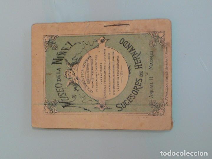 Libros antiguos: CUENTO MUSEO DE LA NIÑEZ , ED. HERNANDO 1900-10 - Foto 2 - 193306700