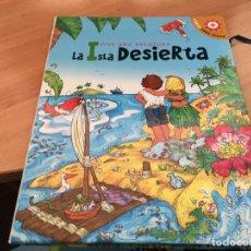 Libros antiguos: VIVE UNA AVENTURA LA ISLA DESIERTA . LIBROS PARA JUGAR 3D COMPLETO CON LAS FIGURAS (LB41). Lote 193429186