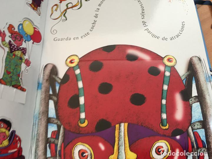 Libros antiguos: VIVE UNA AVENTURA EN EL PARQUE DE ATRACCIONES. LIBROS PARA JUGAR 3D COMPLETO (LB41) - Foto 3 - 293618048