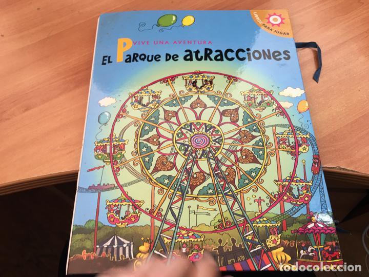 VIVE UNA AVENTURA EN EL PARQUE DE ATRACCIONES. LIBROS PARA JUGAR 3D COMPLETO (LB41) (Libros Antiguos, Raros y Curiosos - Literatura Infantil y Juvenil - Cuentos)