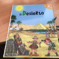 Libros antiguos: VIVE UNA AVENTURA EN EL DESIERTO. LIBROS PARA JUGAR 3D COMPLETO CON FIGURAS (LB41) . Lote 193429680
