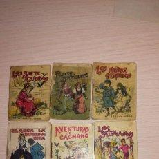 Libros antiguos: LOTE CUENTOS S.CALLEJA, MEDICINA PRODOGIOSA, LOS NIÑOS PERDIDOS, LOS SALTIMBANQUIS, ETC, ETC. Lote 193659751