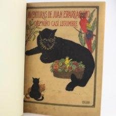 Libros antiguos: AVENTURAS DE JUAN ESPARRAGUITO, AGUSTIN EDWARDS, 1930, ILUSTRACIONES A. GOMEZ PALACIOS, PARIS.. Lote 193682687