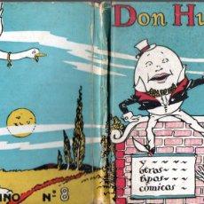 Libros antiguos: G. M. RICHARDS : DON HUEVO PELADO (MOLINO, 1935) CUENTOS MOLINO Nº 8. Lote 193844590