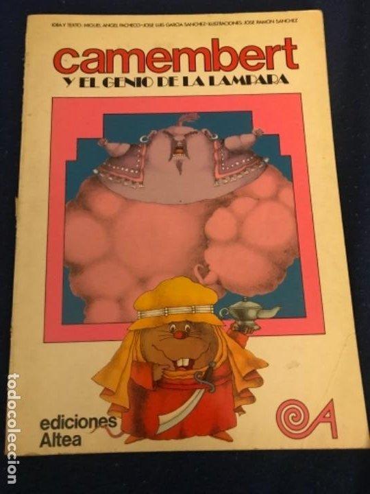 CAMEMBERT Y EL GENIO DE LA LAMPARA EDICIONES ALTEA 1981 (Libros Antiguos, Raros y Curiosos - Literatura Infantil y Juvenil - Cuentos)