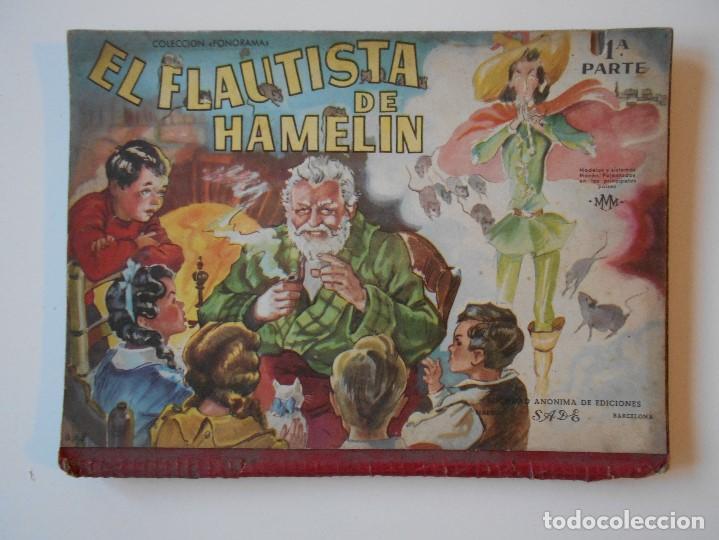 EL FLAUTISTA DE HAMELIN. 1ª PARTE. COLECCION PANORAMA. SOCIEDAD ANOMINA DE EDICIONES, BARCELONA. MOD (Libros Antiguos, Raros y Curiosos - Literatura Infantil y Juvenil - Cuentos)
