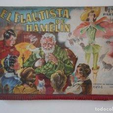 Libros antiguos: EL FLAUTISTA DE HAMELIN. 1ª PARTE. COLECCION PANORAMA. SOCIEDAD ANOMINA DE EDICIONES, BARCELONA. MOD. Lote 193985431