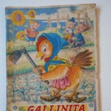 Libros antiguos: LA GALLINITA Y SU MAIZ. CUENTO A TODO COLOR DE EDITORIAL FHER. COLECCION LL. 50 GRAMOS.. Lote 193985890