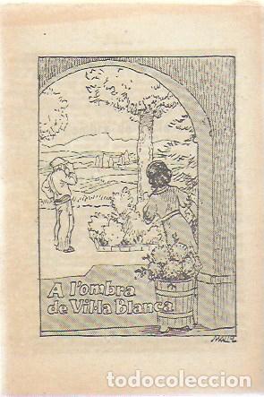 A L' OMBRA DE VIL·LA BLANCA / R. BIR; PORTADA MALLOL. 15X10CM. 8 P. COL. PATUFET, 1146 (Libros Antiguos, Raros y Curiosos - Literatura Infantil y Juvenil - Cuentos)