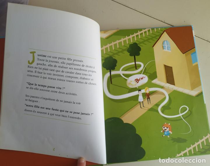 Libros antiguos: Justine ou le temps arrêté. Editions Chocolat. Aldebert - Foto 3 - 194094711