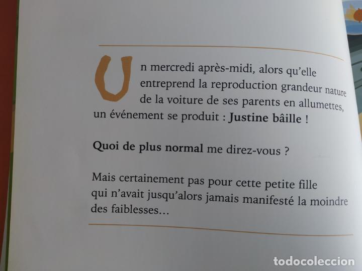 Libros antiguos: Justine ou le temps arrêté. Editions Chocolat. Aldebert - Foto 4 - 194094711