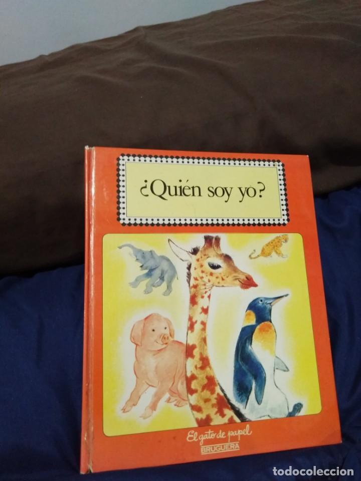 ¿QUIÉN SOY YO? LIBRO INFANTIL (Libros Antiguos, Raros y Curiosos - Literatura Infantil y Juvenil - Cuentos)