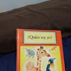 Libros antiguos: ¿QUIÉN SOY YO? LIBRO INFANTIL. Lote 194172396