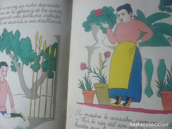 Libros antiguos: La Campana que Anda de Goethe. Ilustrado por Obiols. Muntañola 1920. - Foto 3 - 194173247