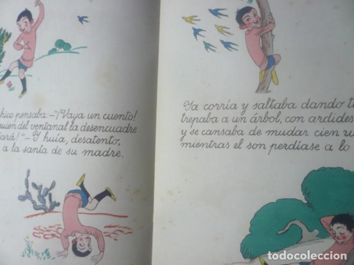 Libros antiguos: La Campana que Anda de Goethe. Ilustrado por Obiols. Muntañola 1920. - Foto 4 - 194173247